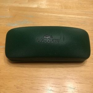 8edf01283e0 Lacoste Accessories - Lacoste Hard Green Eye Glasses Case